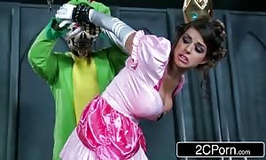 Jerk That joy Stick: Super Mario Bros Get Busy With Princess Brooklyn Chase